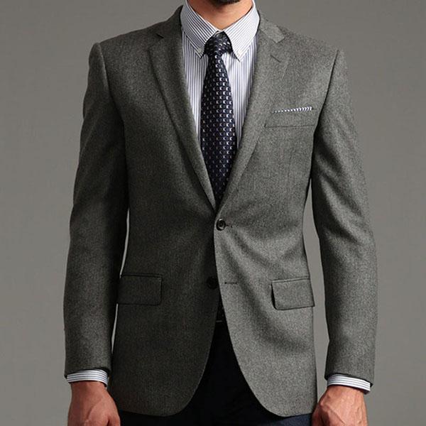 定做西装的领型如何选择