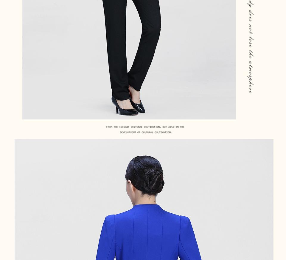 黑5女士西裤